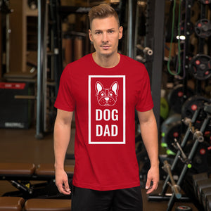 DOG DAD T-Shirt | Dog Lover | Pet Lover-Cat and Dog T-Shirts-Cat and Dog T-Shirts
