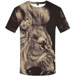 Lion T shirt Animal T-shirt Design-Lion Shirt-Cat and Dog T-Shirts