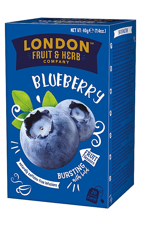 London Fruit & Herb Blueberry Tea 20 bags