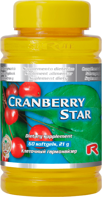 Starlife CRANBERRY STAR, 60 tablets