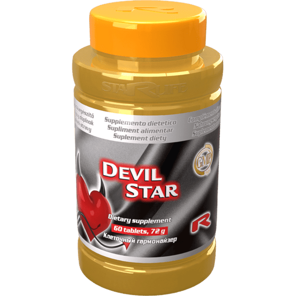 Starlife DEVIL STAR, 60 tablets