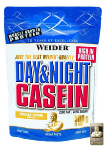 WEIDER Day & Night Casein chocolate-cream 500 g - mydrxm.com