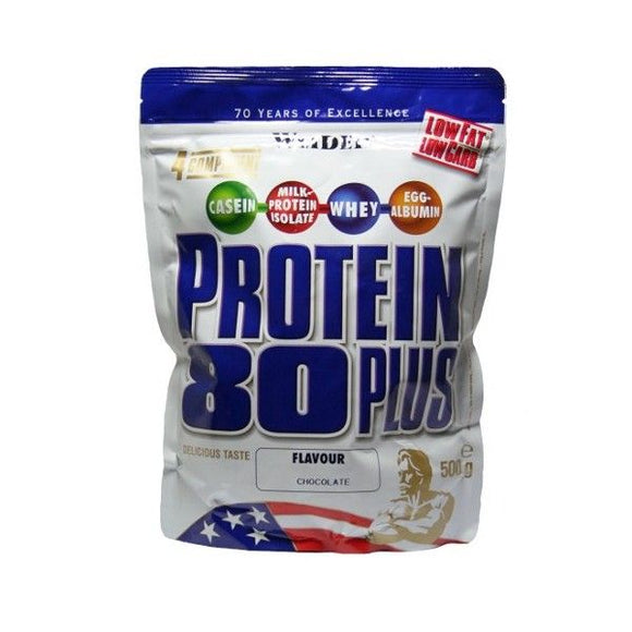 WEIDER Protein 80 Plus chocolate bag 500 g - mydrxm.com