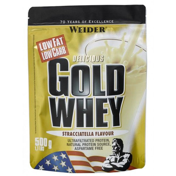 WEIDER Gold Whey milk chocolate bag 500 g - mydrxm.com