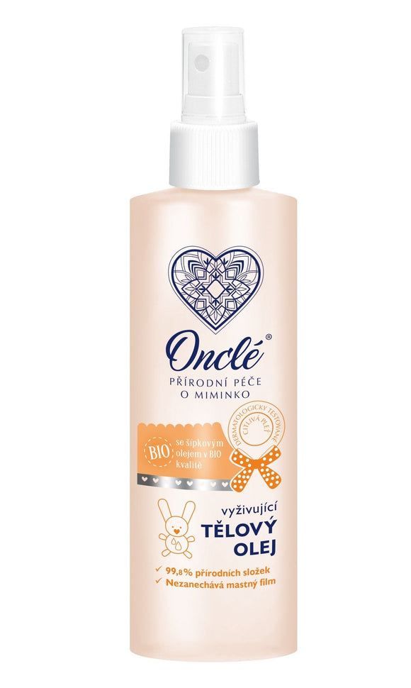 ONCLÉ Nourishing Body Oil with Organic Rosehip Oil 200 ml - mydrxm.com