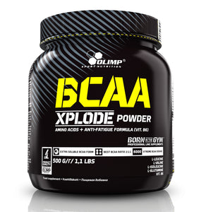 Olimp BCAA Xplode fruit punch 500 g - mydrxm.com