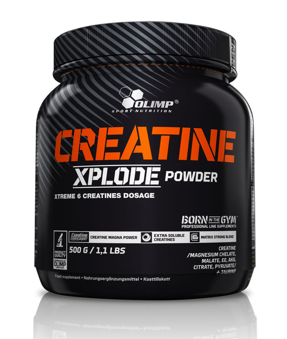 Olimp Creatine Xplode Powder Orange 500g - mydrxm.com
