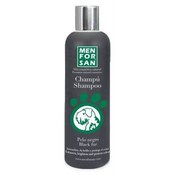 Menforsan 300 ml black shampoo for dogs