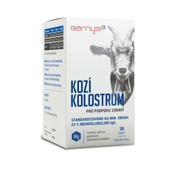 Barny´s Goat colostrum 30 capsules