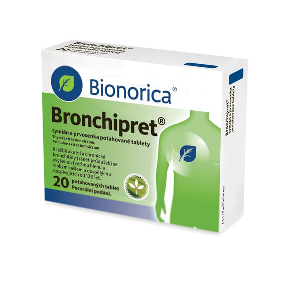 Bronchipret Thyme and primrose 20 tablets - mydrxm.com