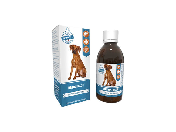 TOPVET Detoxification syrup for dogs 200ml