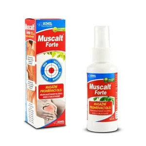 Aimil Muscalt Forte massage warming oil 60 ml