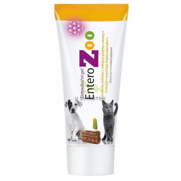 Entero ZOO detoxifying gel 100g
