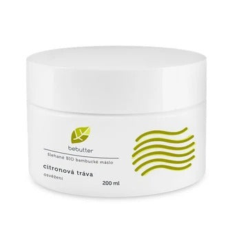 Bebutter Whipped BIO shea butter lemon grass 200 ml