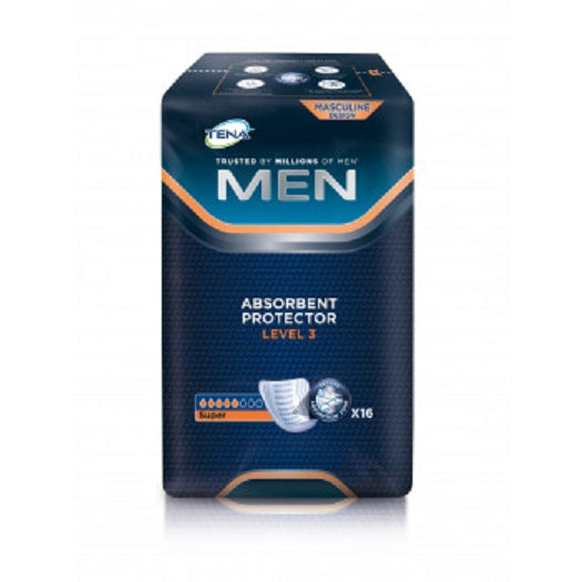 Tena MEN Level 3 Incontinence pads 16 pcs - mydrxm.com