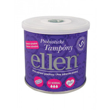 Ellen Probiotic tampons ECO normal 22 pcs - mydrxm.com