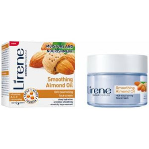 Lirene Smoothing Almond oil day / night cream 50 ml - mydrxm.com