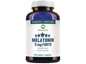 Melatonin Forte 5 mg 100 tablets - mydrxm.com