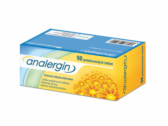 Analergin 10 mg 90 tablets allergic rhinitis treatment - mydrxm.com