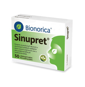 Sinupret 50 coated tablets - mydrxm.com