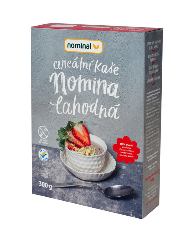 Nominal Cereal strawberry porridge 300 g