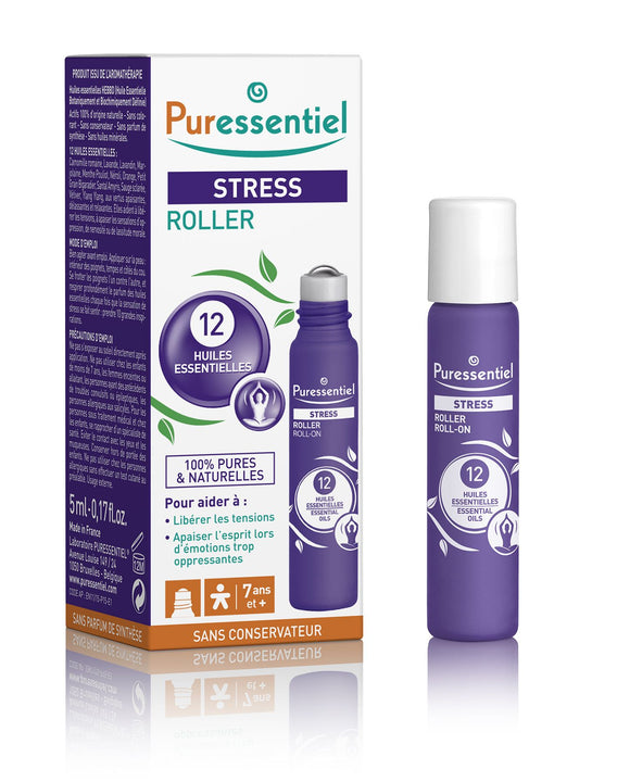 PURESSENTIEL Stree Relief Roll-on 5 ml - mydrxm.com