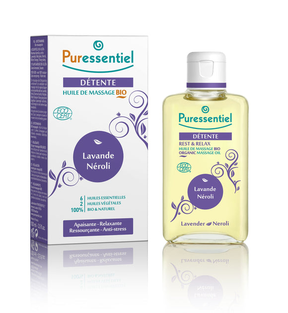 PURESSENTIEL Massage oil to release 100 ml - mydrxm.com