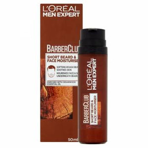 Loréal Paris Barber Club Moisturizing cream for short beards and face 50 ml - mydrxm.com