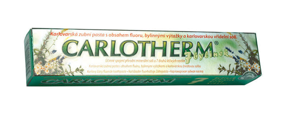 Carlotherm 7 herbs toothpaste 100ml