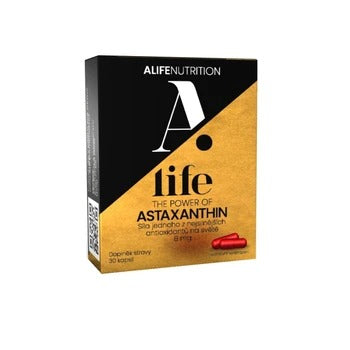 Alife Beauty and Nutrition Astaxanthin 30 capsules
