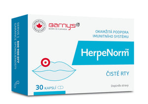 Barny's HerpeNorm 30 capsules cold sore treatment - mydrxm.com