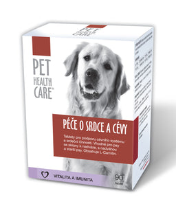 Pet health Care for heart and blood vessels for dogs 90 tablets - mydrxm.com