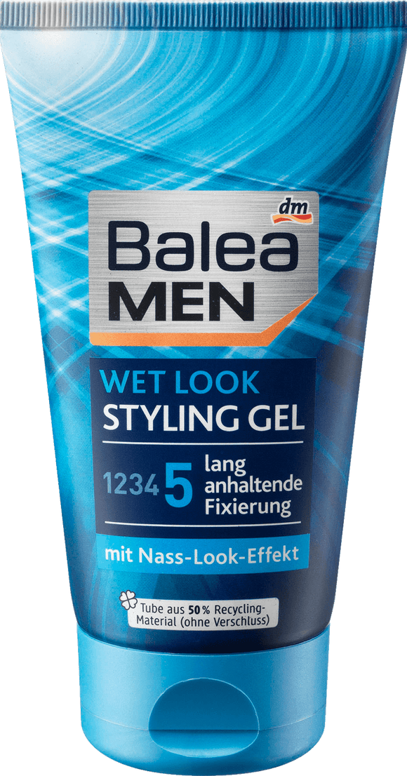 Balea MEN Wet Look Styling Gel, 150 ml