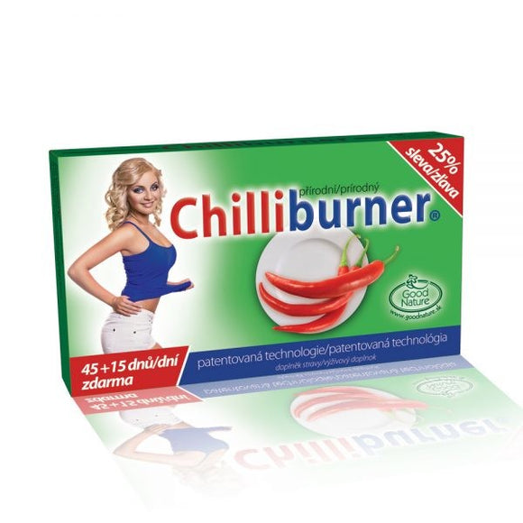 Chili burner support weight loss 60 tablets