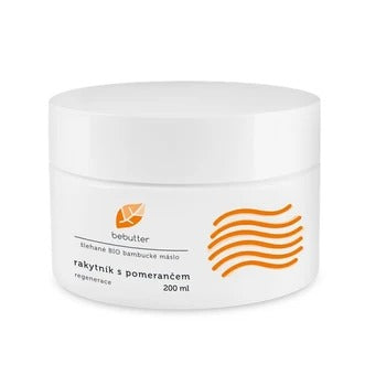 Bebutter Whipped BIO shea butter sea buckthorn with orange 200 ml