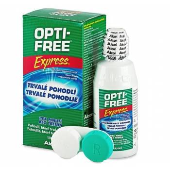 Opti free Express No rub lasting comfort solution for contact lenses 120 ml