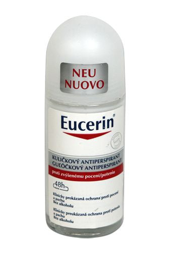 Eucerin Antiperspirant roll-on 50 ml - mydrxm.com