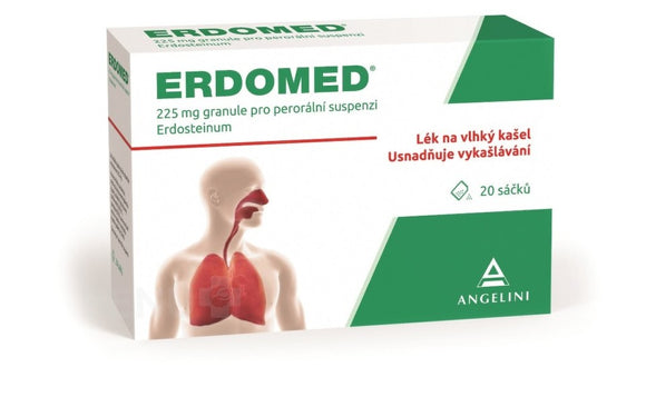 Erdomed inflammatory diseases treatment 225 mg 20 bags - mydrxm.com