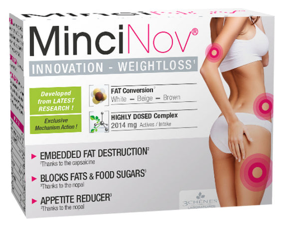 MinciNov fat conversion weight loss 60 tablets