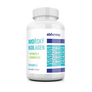 Abfarmis Sea collagen + vitamin C + vitamin B3 - 30 capsules