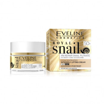 Eveline Royal Snail Day / Night Cream age 50+ 50 ml - mydrxm.com