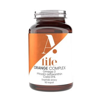 Alife Beauty and Nutrition Orange Complex 90 capsules
