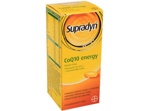 Bayer Supradyn CoQ10 tablets Energy, 60 pcs - mydrxm.com