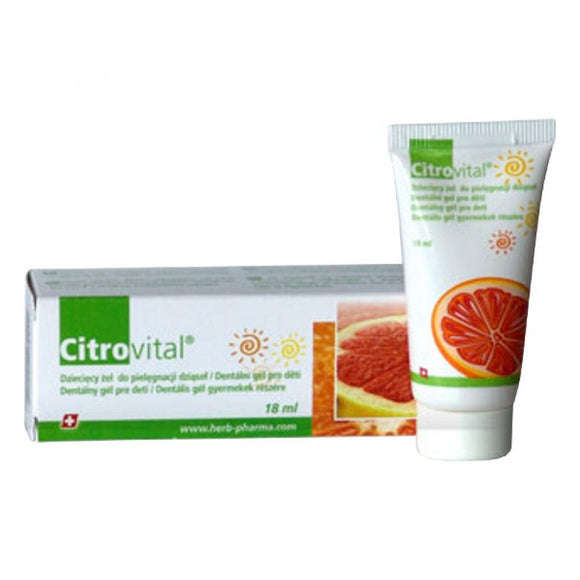 Citrovital Dental Gel for Children 18ml - mydrxm.com