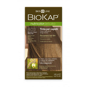 BIOKAP Nutricolor Delicato 8.03 Blond light natural hair color 140 ml - mydrxm.com