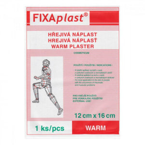 Fixaplast Warm Capsaicin warm patch 12x16 cm 5pcs - mydrxm.com