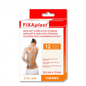 Fixaplast THERMO 9,5 x 13 cm warm patch 4 pcs - mydrxm.com