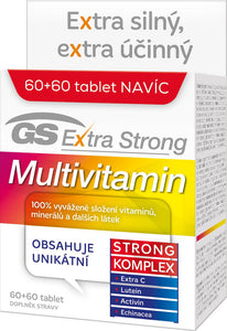 GS Extra Strong Multivitamin 60 + 60 tablets - mydrxm.com