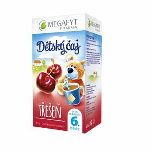 Megafyt Cherry fruit tea with cherry flavor teabag 20x2 g