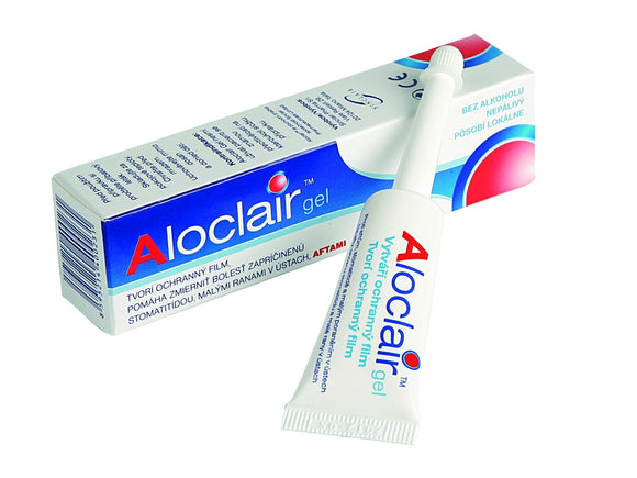 Aloclair Gel Mouth Wounds Ulcers Cavity treatment 8 ml medicine heal relief tube - mydrxm.com